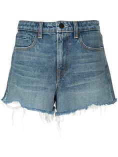 джинсовые шорты T By Alexander Wang