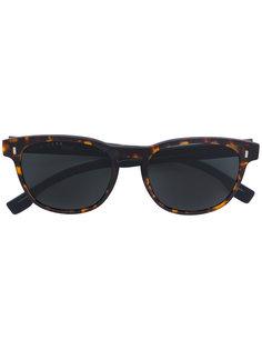 квадратные солнцезащитные очки с эффектом черепашьего панциря Boss Hugo Boss