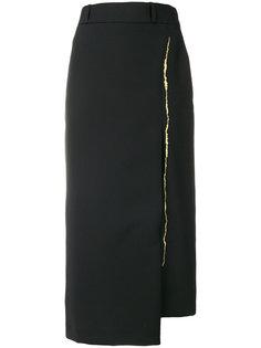 асимметричная юбка-миди Haider Ackermann