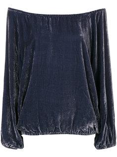 бархатная блузка Gianni Mes Demoiselles