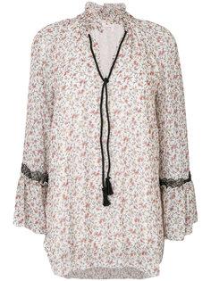 блузка с принтом роз  See By Chloé