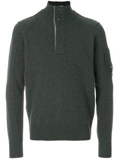 свитер с воротником на молнии CP Company