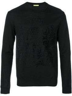 свитер с принтом Versace Jeans