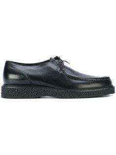 туфли на шнуровке Saint Laurent
