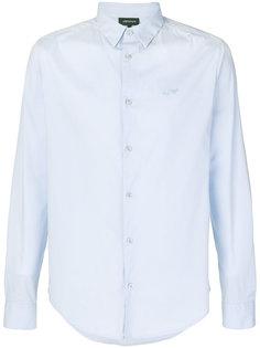 рубашка с вышивкой логотипа Armani Jeans