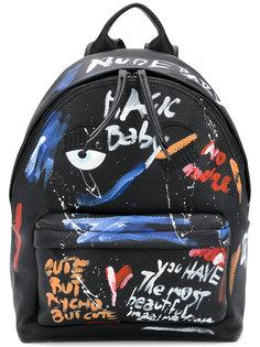 рюкзак с эффектом краски Chiara Ferragni