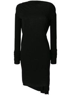 короткое коктейльное платье с открытой спиной Rick Owens Lilies