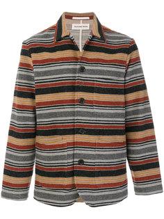 легкая куртка в полоску Universal Works