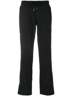 спортивные брюки с боковыми пуговицами Puma