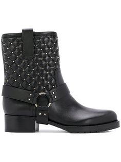 байкерские ботинки Valentino Garavani Valentino