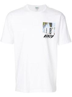 футболка с квадратным принтом Kenzo