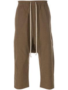 укороченные брюки Rick Owens DRKSHDW