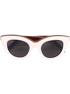 """многослойные солнцезащитные очки в оправе """"кошачий глаз"""" Victoria Beckham"""