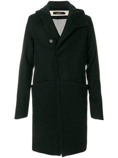 удлиненное пальто с капюшоном A New Cross