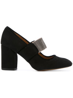туфли с квадратным носком Castañer