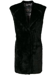 однобортное пальто  Ash