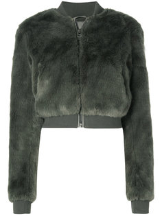 фактурная укороченная куртка  Ash