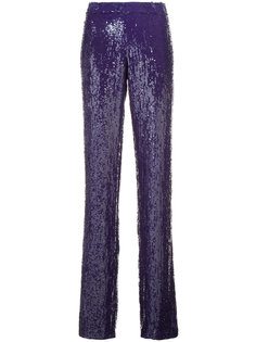 sequinned trousers Jeffrey Dodd