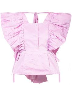 блузка с пышными рукавами Rosie Assoulin