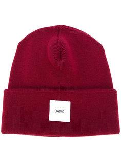 кашемировая вязаная шапка с логотипом Oamc