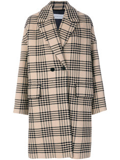 клетчатое пальто Christian Wijnants