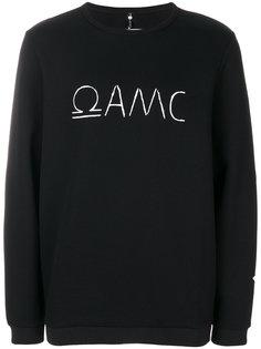 толстовка с принтом с логотипом Oamc