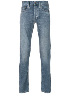 выбеленные джинсы Denham