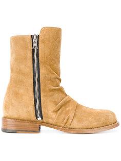 ботинки на молнии сбоку Amiri