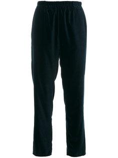 укороченные брюки с завышенной талией  Dusan