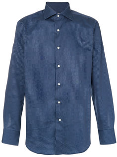 рубашка с узором в горох Canali