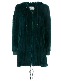 пальто на молнии  Meteo By Yves Salomon