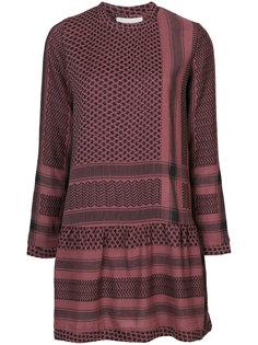 платье с комбинированным узором Cecilie Copenhagen