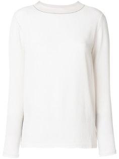 однотонная блузка  Fabiana Filippi