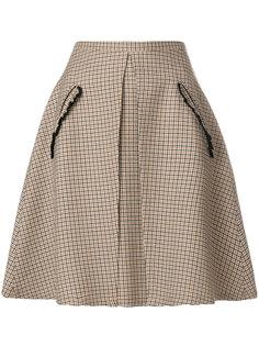 А-образная юбка в клетку  Nº21