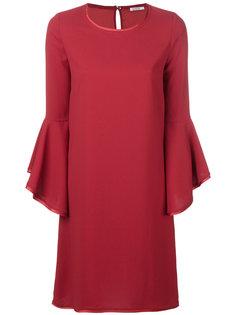 платье шифт с оборками P.A.R.O.S.H.
