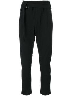 спортивные брюки с поясом  Ann Demeulemeester