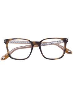 очки в квадратной оправе Givenchy Eyewear