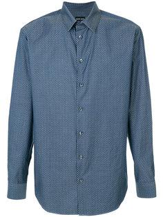 однотонная рубашка Giorgio Armani