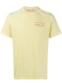 футболка с короткими рукавами Martine Rose