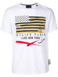 футболка с принтом I Love New York Philipp Plein
