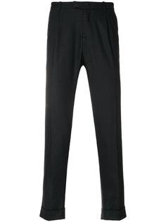 брюки строгого кроя Paolo Pecora
