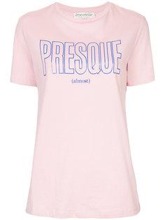 футболка Presque  Être Cécile