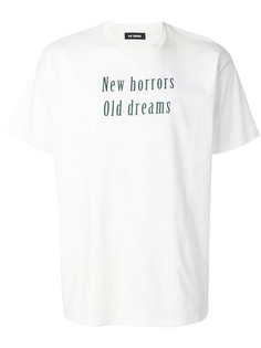 футболка с принтом Raf Simons