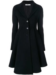 расклешенное однобортное пальто  Givenchy