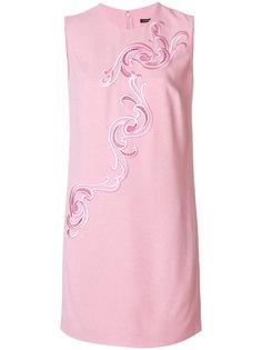 платье с вышивкой в стиле барокко  Versace