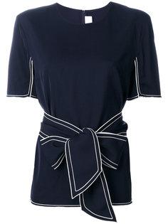 блузка с поясом Victoria Victoria Beckham