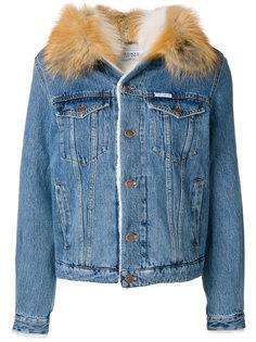 куртка с мехом лисы W Le Bon Forte Couture