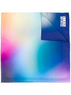 шарф с эффектом нанесенной баллончиком краски Kenzo