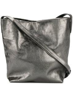 сумка на плечо с эффектом металлик Ann Demeulemeester