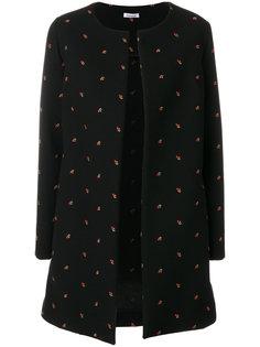 пальто с вышивкой  P.A.R.O.S.H.
